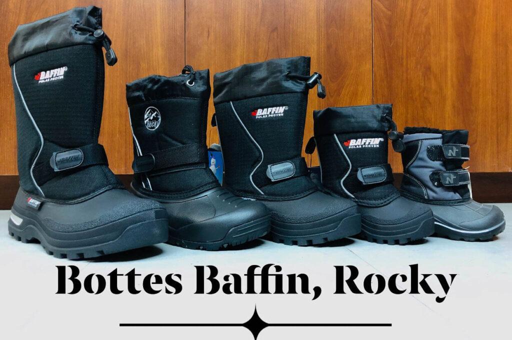 bottes baffin hiver motoneige sports d'hiver