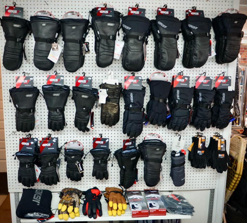 mitaines et gants hiver VTT et motoneige skidoo gants de skidoo