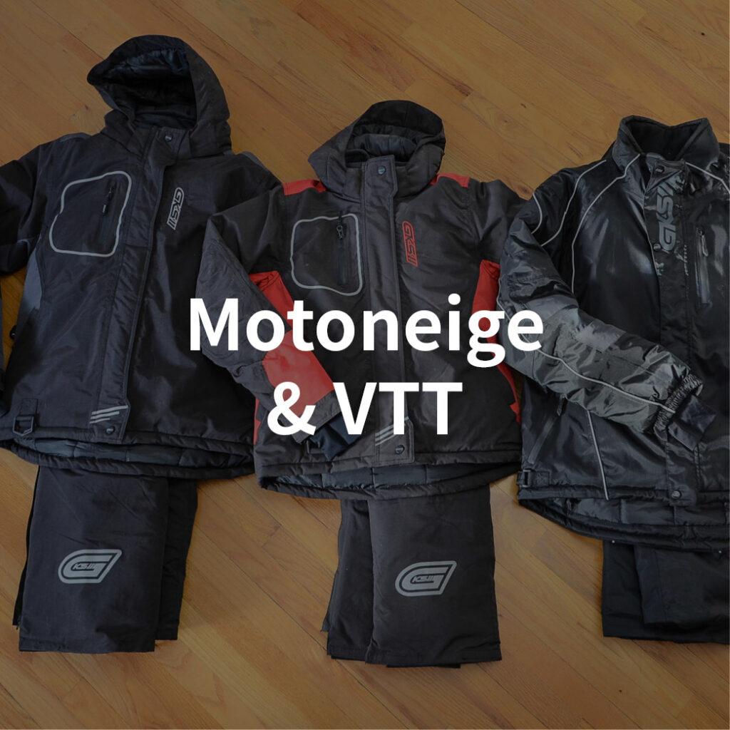 catégorie motoneige et vtt