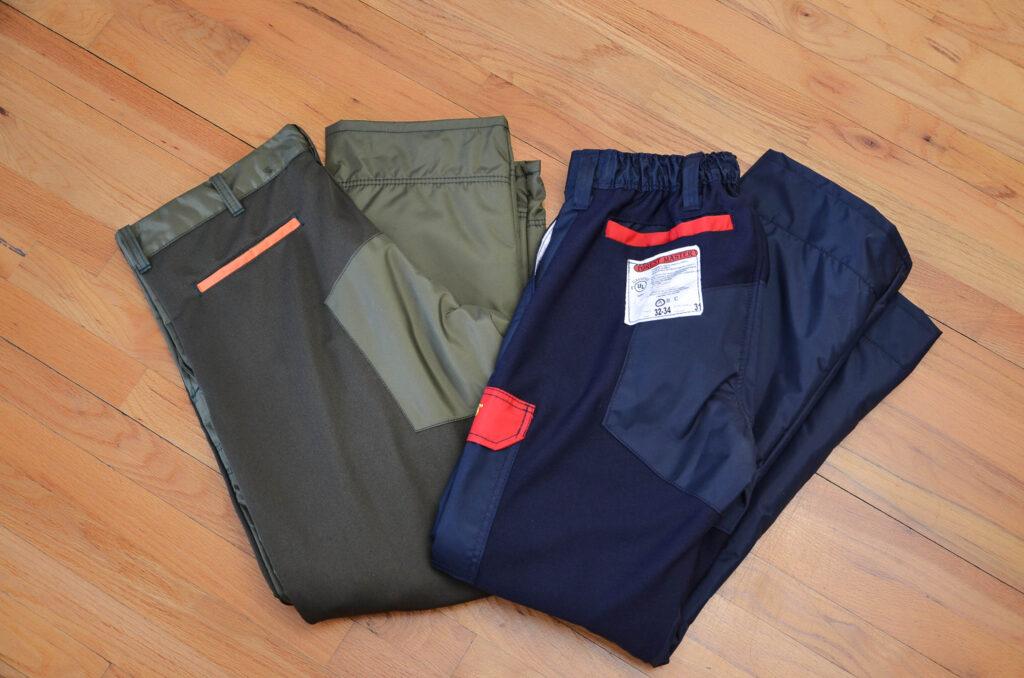 pantalons de bûcheron